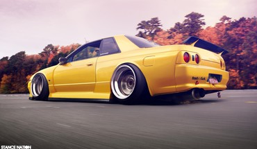 Cars nissan gtr HD wallpaper