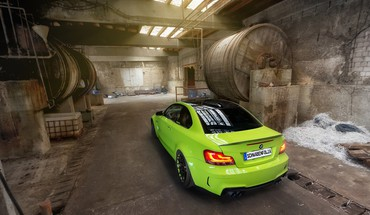 Bmw 1 series m coupe cars green static HD wallpaper