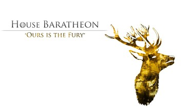 Ledo ir ugnies TV serialas namas baratheon  HD wallpaper