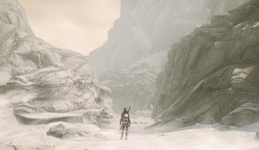 Mountains jaws the elder scrolls v: skyrim HD wallpaper