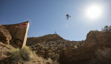 Bicycles sports extreme motorbikes red bull rampage HD wallpaper