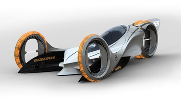 The future car concept HD wallpaper