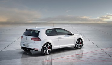 Concept art golf volkswagen statique gti  HD wallpaper