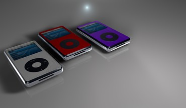 Abstract ipod music player HD wallpaper