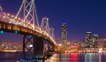 San francisco night HD wallpaper