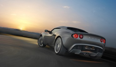 Sunset cars roads lotus elise sports gray HD wallpaper