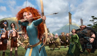 Pixar redheads brave bow (weapon) HD wallpaper
