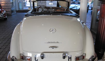 roadster Mercedes 300  HD wallpaper