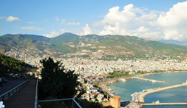 Port alanya HD wallpaper