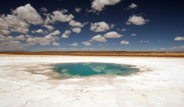 Desert argentina ponds national geographic salt flats HD wallpaper
