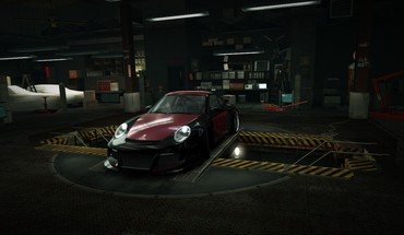 Speed porsche 911 world turbo garage nfs HD wallpaper