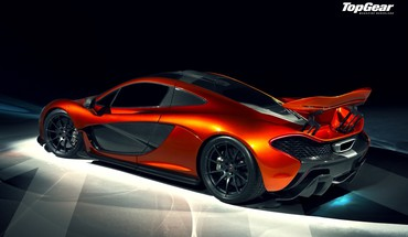 Top engrenage mclaren p1  HD wallpaper