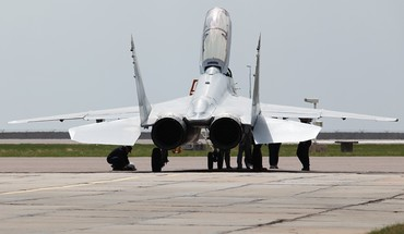 Russian air force mig 29 HD wallpaper