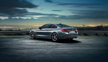 Cars grey bmw 4 series coupe HD wallpaper