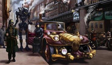 Fantastic artistic cars digital art fantasy HD wallpaper