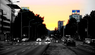 Sun shadows serbia vehicles cities rue beograd HD wallpaper