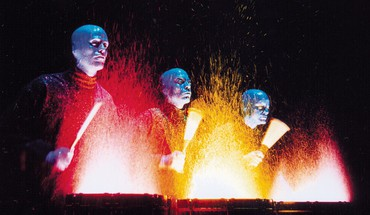 Muzika Blue Man Group muzikiniais HD wallpaper