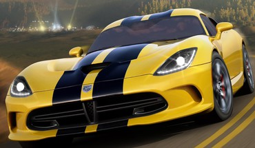 Xbox 360 dodge viper srt-10 forza horizon HD wallpaper