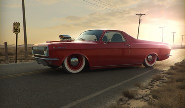 Gaz 24 volga HD wallpaper