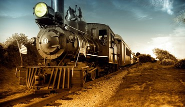 Steam locomotives trains HD wallpaper