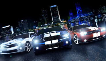 Cool muscle cars HD wallpaper