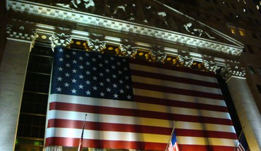American flag new york stock exchange HD wallpaper