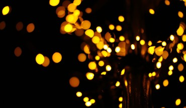 Lights bokeh HD wallpaper