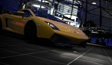 Gallardo playstation 3 red bulls hangar cars HD wallpaper