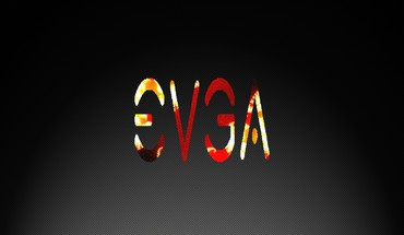 Evga black fire flames HD wallpaper