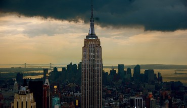 Empire State Building Niujorke architektūros pastatai  HD wallpaper