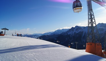 Alpes italie montagnes Kronplatz neige  HD wallpaper