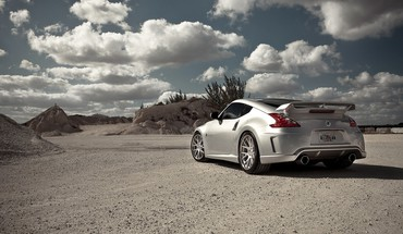 Nissan 370Z Sportwagen  HD wallpaper