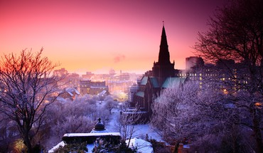 Churches cityscapes urban HD wallpaper