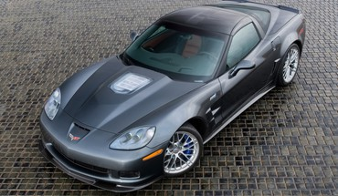 Chevrolet corvette zr1 front grey HD wallpaper