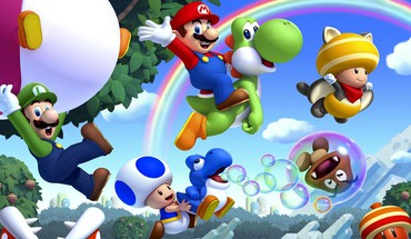 Videospiele mario bros neuen Super  HD wallpaper
