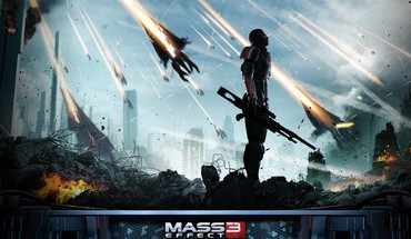 3 commander shepard electronic arts armored suit HD wallpaper