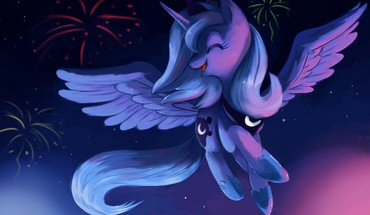 Luna my little pony pony: friendship is magic HD wallpaper