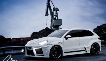 Porsche cayenne giant turbo HD wallpaper