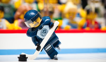Legos funny hockey macro sports HD wallpaper