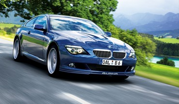 Alpina bmw 6 series m6 blue cars HD wallpaper