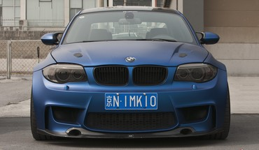 Bmw blue HD wallpaper