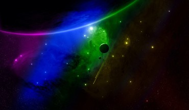 Colors outer space spectrum HD wallpaper