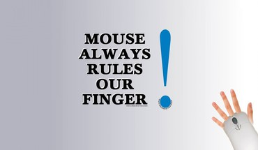 Fingers mice rules saying HD wallpaper