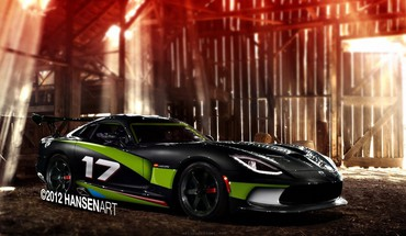 Viper tuning races modified speed muscle car HD wallpaper