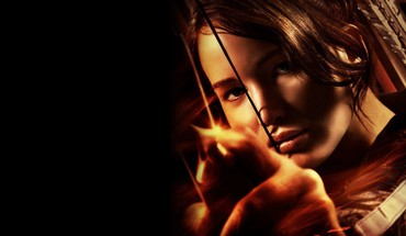Jennifer lawrence katniss everdeen the hunger games HD wallpaper