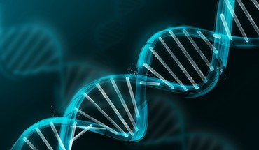 Dna abstract molecule HD wallpaper