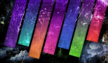 Equalizer multicolor photo manipulation textures HD wallpaper