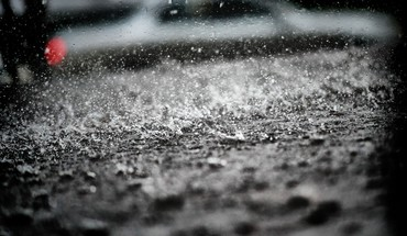 Rain splashes water drops HD wallpaper