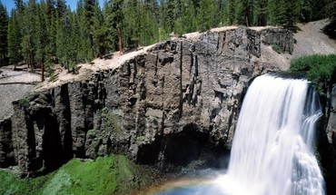 California falls HD wallpaper