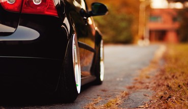 Herbst Autos  HD wallpaper